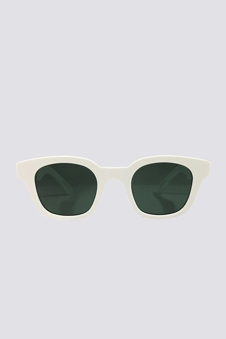 Assembly Acetate Warsaw Sunglasses - White