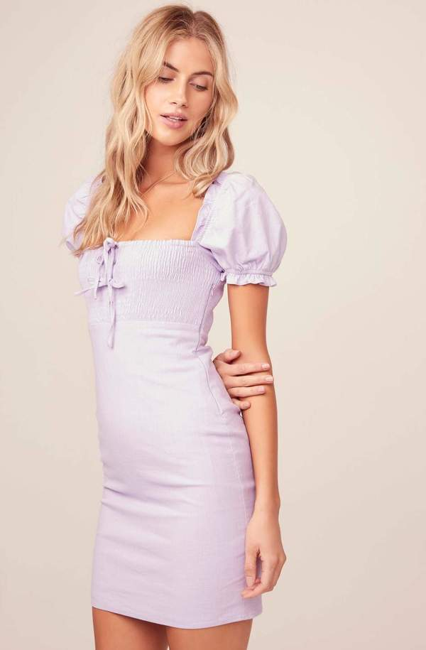 ASTR The Label Nina Dress - Lavender
