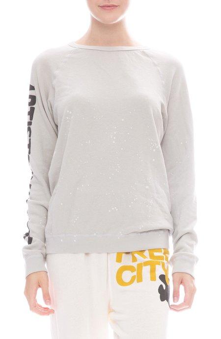 FREECITY Hockney Strike Raglan Sweatshirt