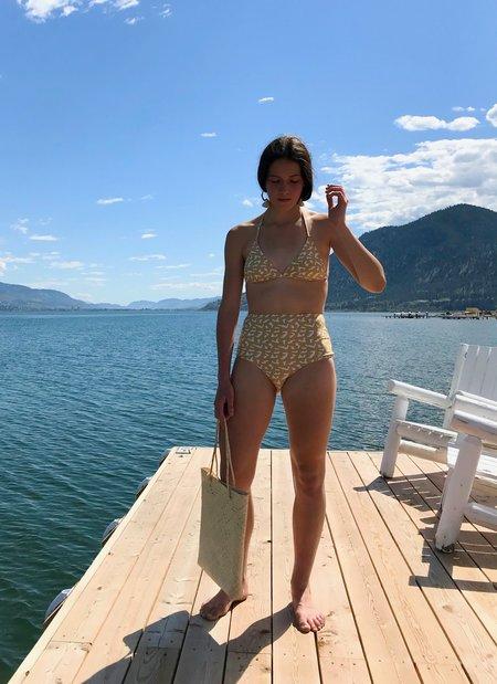 Mollusk Holly Bikini Bottom - Sparkling Water