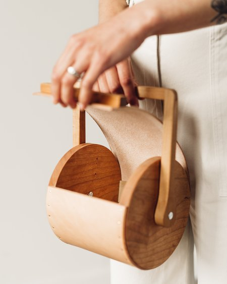 Atelier Delphine Delphine Cylinder Bag - Nude