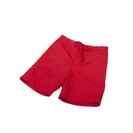 Freemans Sporting Club Emmett Nylon Short - Red
