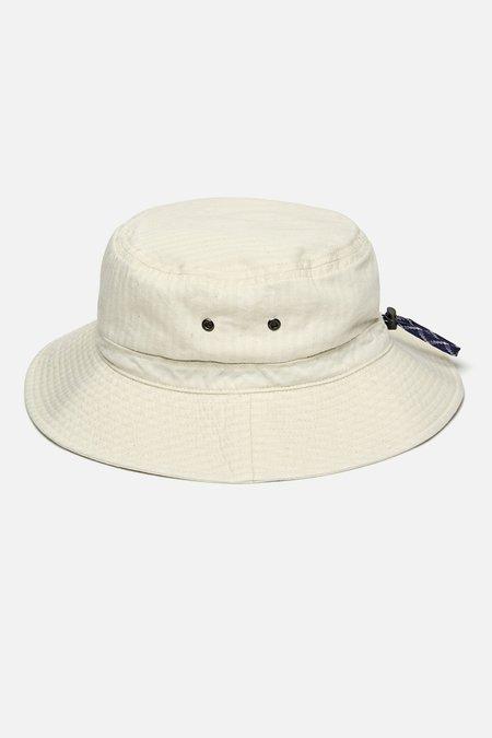 Cableami Herringbone Bucket Hat - Ecru