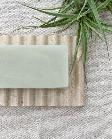 Binu Binu Soap Dish - Cream Marble