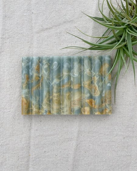 Binu Binu Soap Dish - Blue Marble