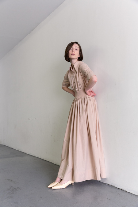 SAMUJI DUSTINE DRESS - POWDER PINK
