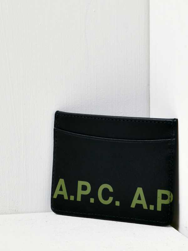 A.P.C. Porte Carte Andre Logo Wallet