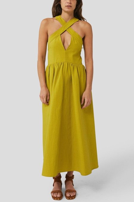 Rachel Comey Terry Dress - Pea Foam