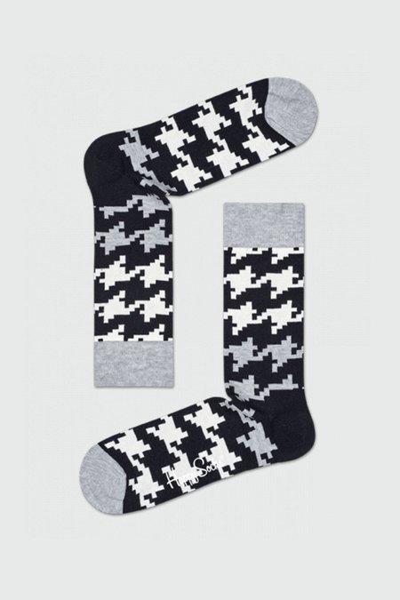 Happy Socks Black White Socks Gift Box - Black/Gray/White