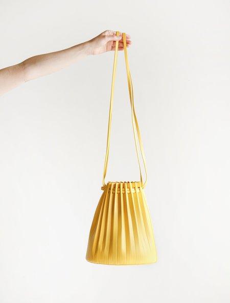Mansur Gavriel Pleated Bucket Bag - Sun