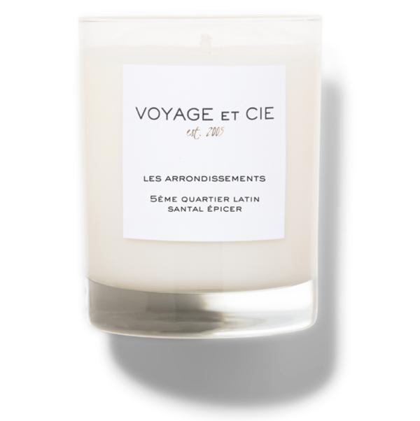 Voyage Et Cie 5Ème Quartier Latin Santal Épicer Candle