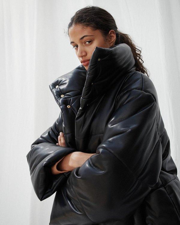 377ebc0b4 Nanushka HIDE Puffer jacket - Black on Garmentory