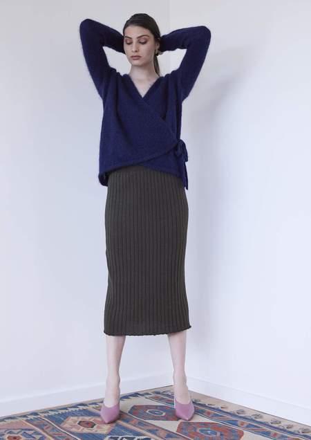 hej hej Pin Dropper skirt - Olive