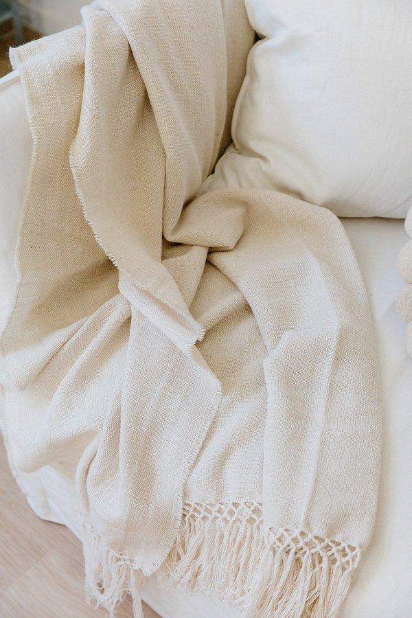 Pampashop PunaBlanket - Natural White