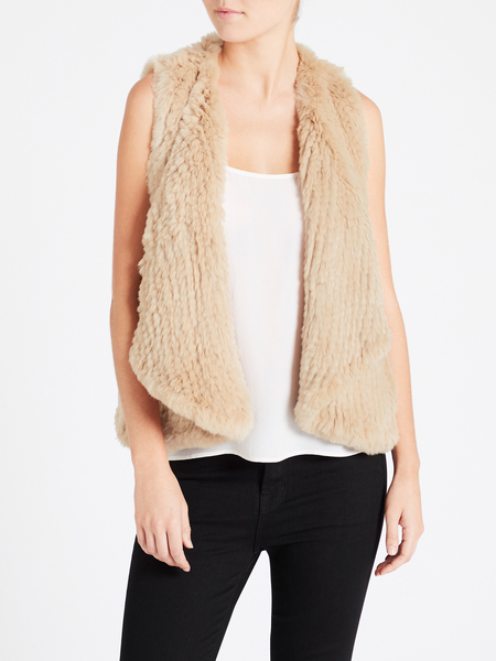 H Brand Courtney Vest - Camel