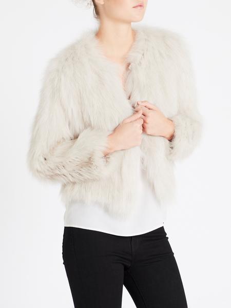 H Brand Elle Fox Jacket - Chalk