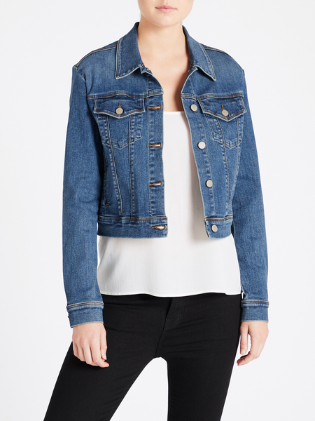 J Brand Harlow Shrunken Jacket - Rapture