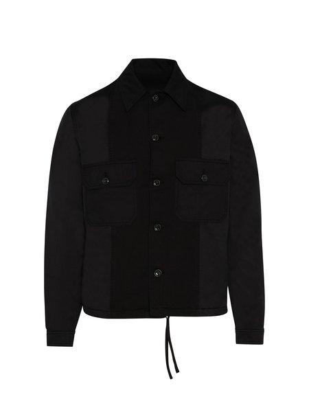 AMI Patchwork Jacket - Black
