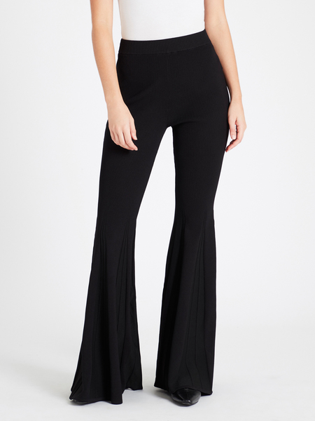 Camilla and Marc Umberto Knit Flare Pant - Black