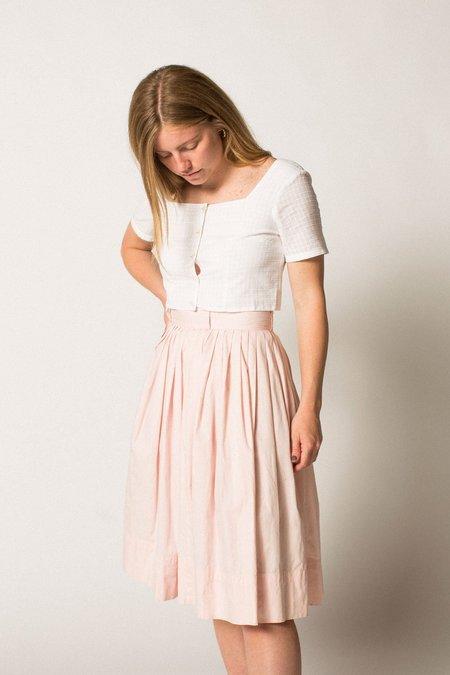 Preservation Vintage Midi Skirt - Pastel Pink