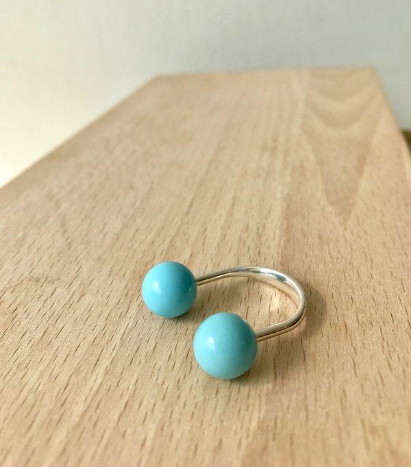 Saskia Diez Sling Ring - Turquoise