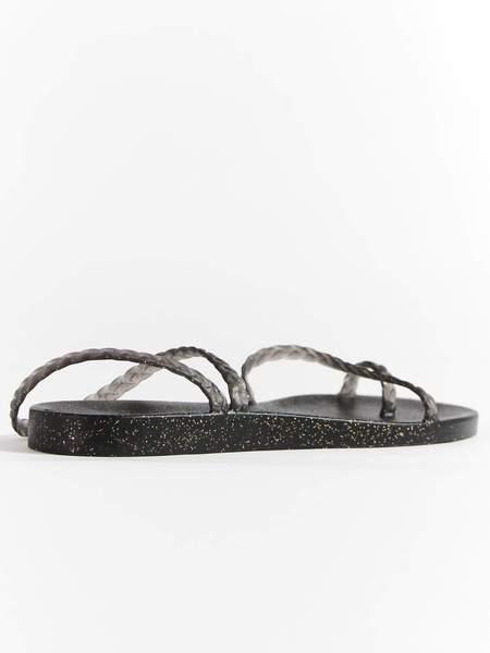 Ancient Greek Sandals Eleftheria Sandal - Black/Gold