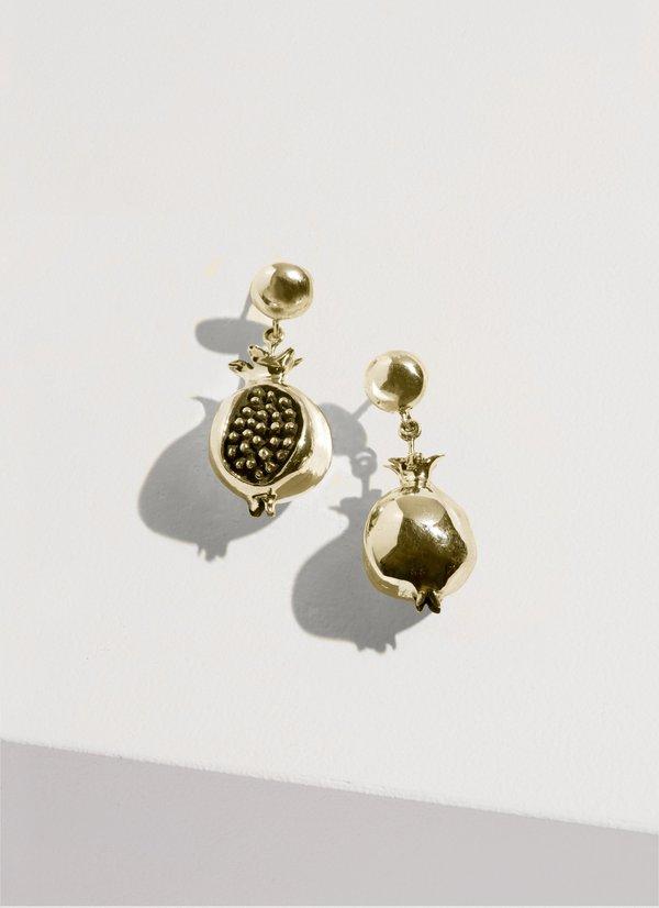 Pamela Love Persephone Earring - brass