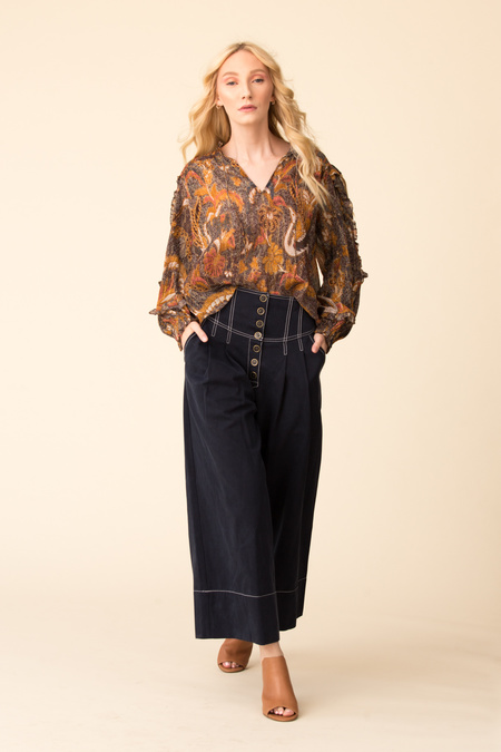 Ulla Johnson Lara Blouse - Amber
