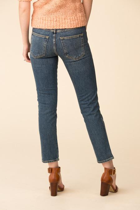 Amo Denim Kate Mid-Rise Slim Straight Jeans - Medium Vintage