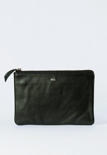 Wos Keep Me Wallet - black