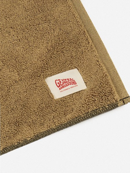 GENERAL ADMISSION Take A Trip Towel - Gold/Black