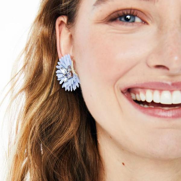Mignonne Gavigan Elli Earrings - Light Blue