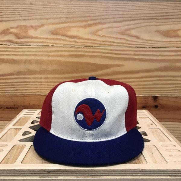 Ebbets Field Flannels Winnepeg Whips 1970 Ballcap - Red/White/Blue