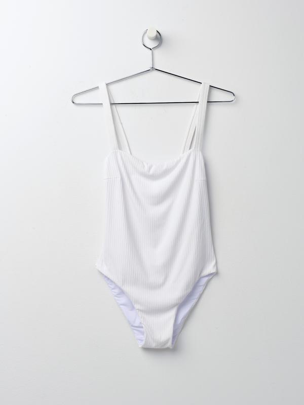 11323111d77 Faithfull The Brand Phoebe One Piece - White | Garmentory