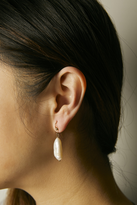 Thesis of Alexandria Fresh Water Pearl Drop Earrings