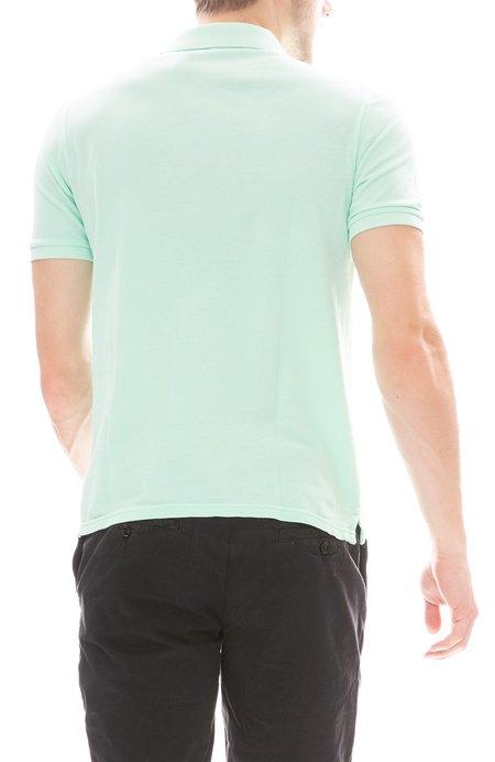 04651/ Pique Polo Shirt - Light Green