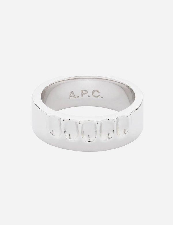 A.P.C. Alex Ring - Silver