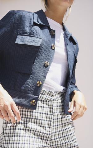Yuka Paris Keith Jacket - Navy