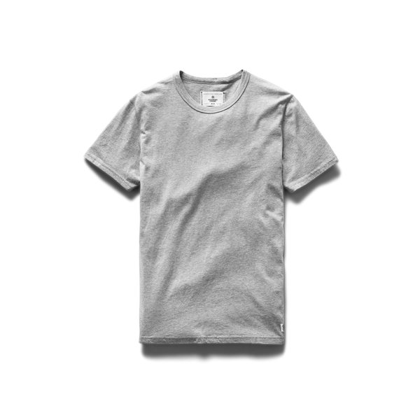 Reigning Champ Cotton Jersey Tee (2 Pack) - Heather Grey