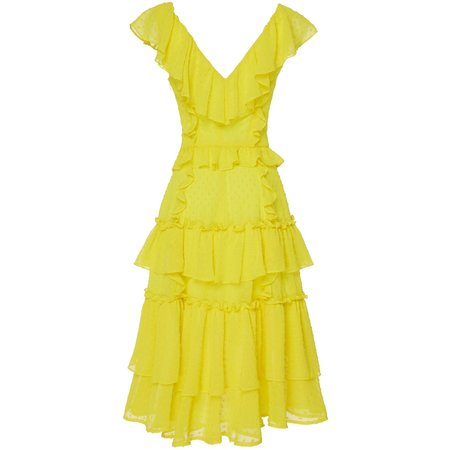Marissa Webb Dion Dress - Canary Yellow