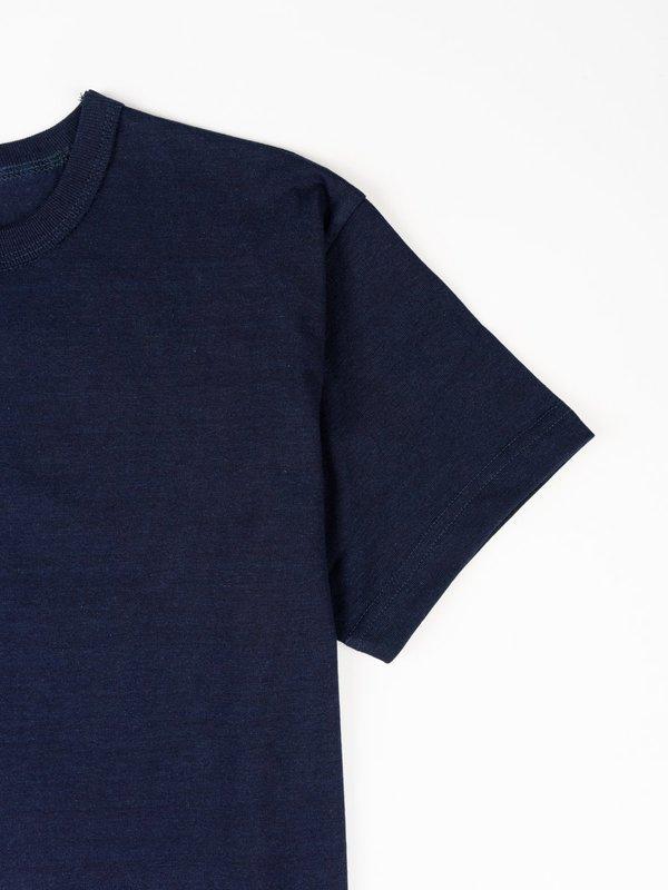 3Sixteen Heavyweight Plain T Shirt - Indigo