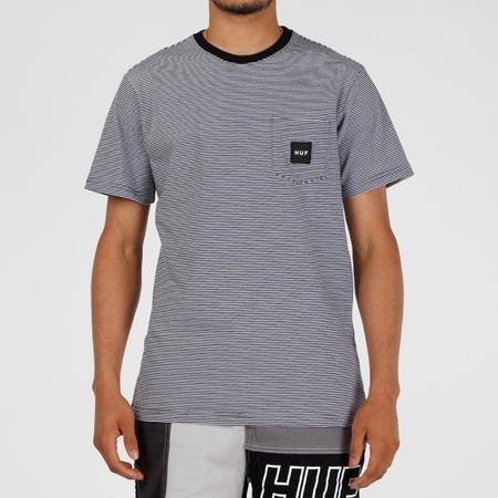 HUF Carson Knit T-Shirt - Black Stripe