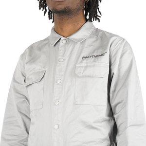 POLYTHENE* OPTICS Boiler Suit - White/Light Grey