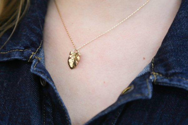 MoonPi Mini Monstera Necklace