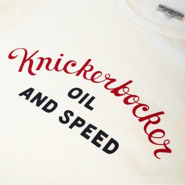 Knickerbocker Oil & Speed Tube Tee - Milk
