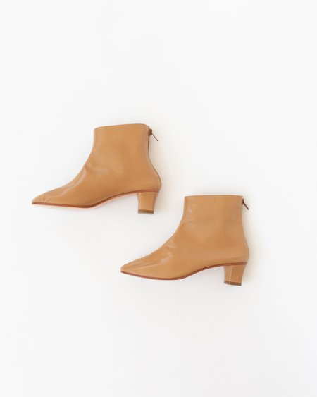 Martiniano High Leone Ankle Boot - Camel