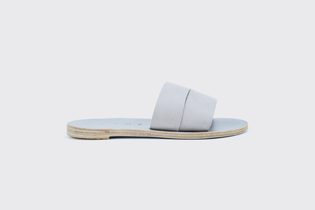 KYMA Kithira Handmade Greek Sandals - Grey
