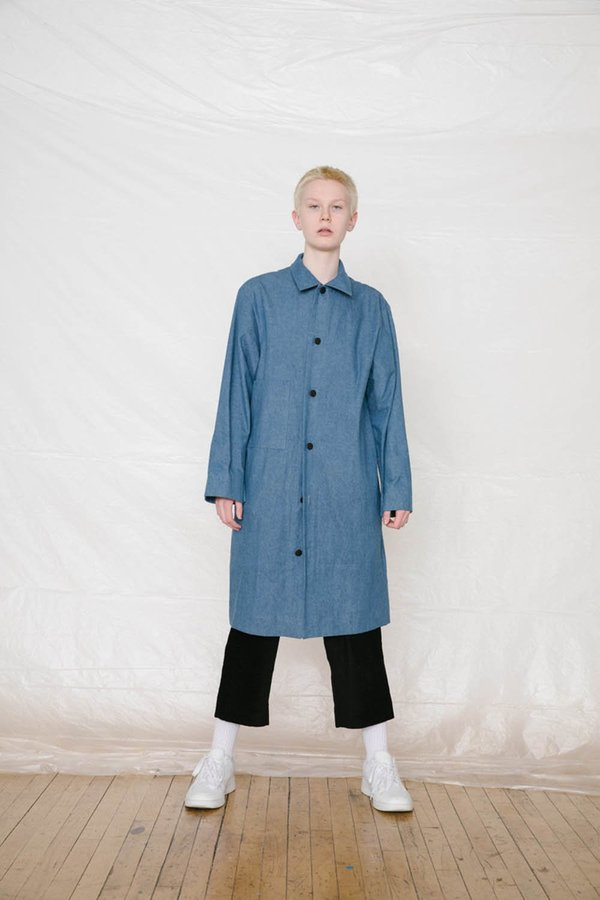 Unisex FAAN Kinsman Jacket - Blue Denim