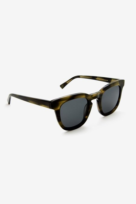 Unisex The Noces Pendo Sunglasses - Olive
