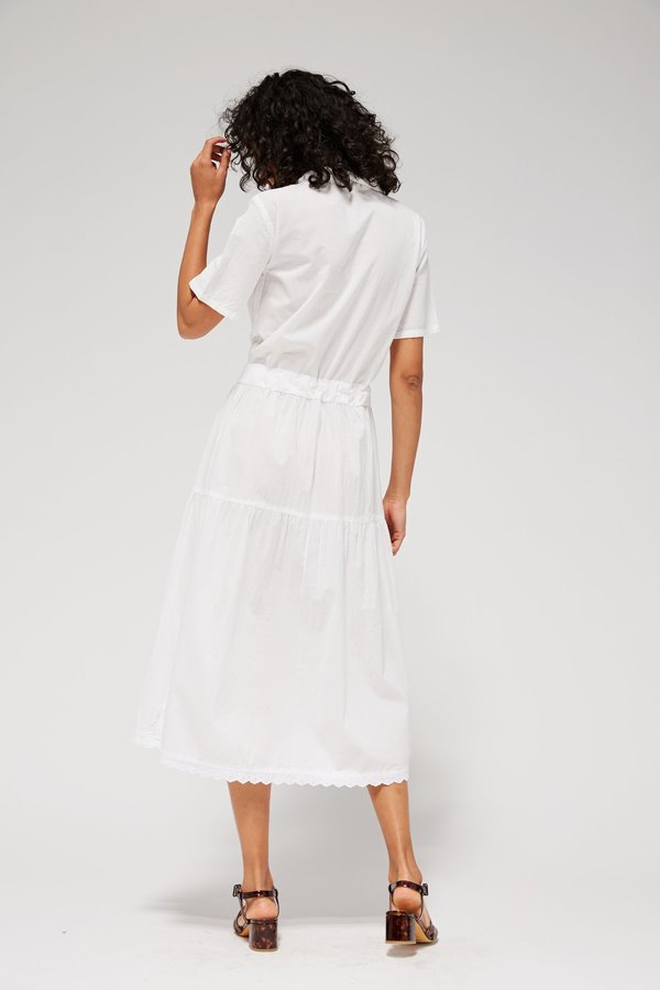 Lacausa Mohawk Dress - Whitewash